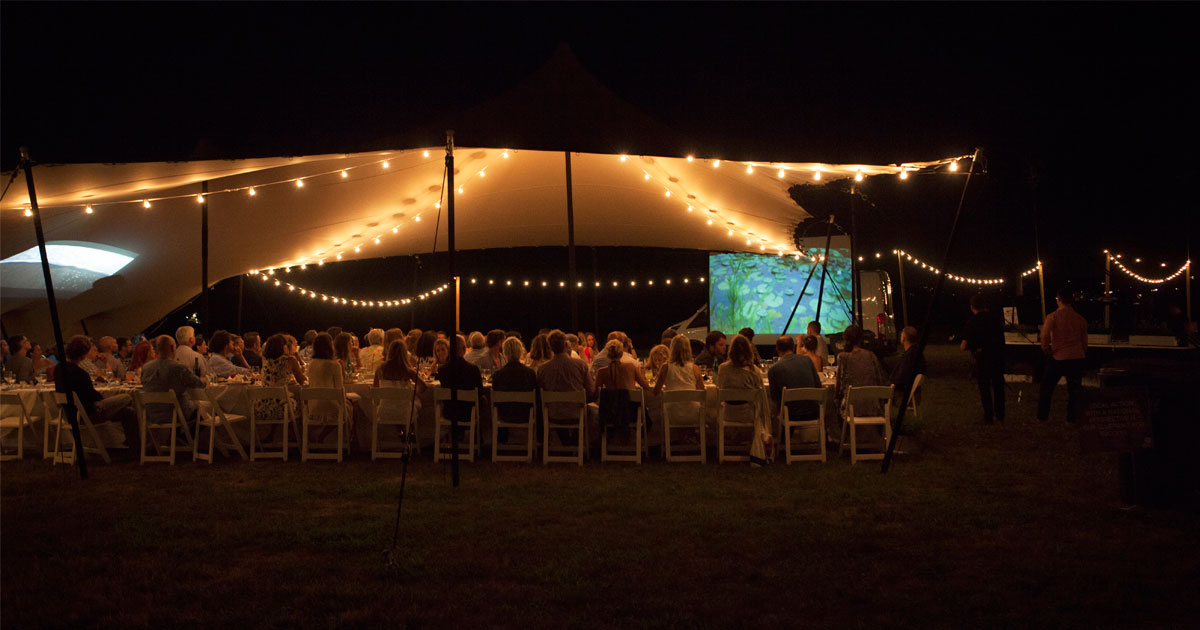 Stretch tent rentals in Long Island