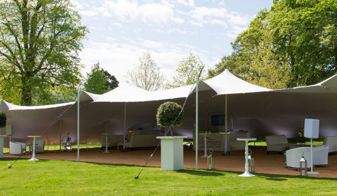 6 Reasons why stretch tents are exactly what your clients are looking for